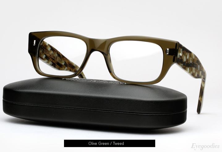 Cutler and Gross 0692 eyeglasses - Olive / Tweed