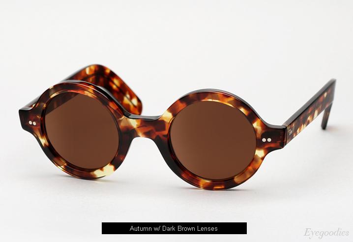 Cutler and Gross 0736 sunglasses - Autumn