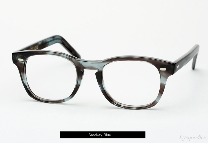Cutler and Gross 1046 eyeglasses - Smokey Blue