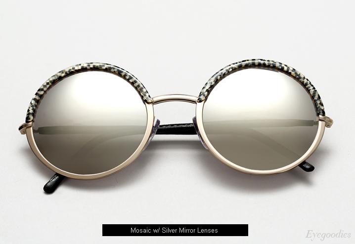 Cutler and Gross 1070 sunglasses - Mosaic