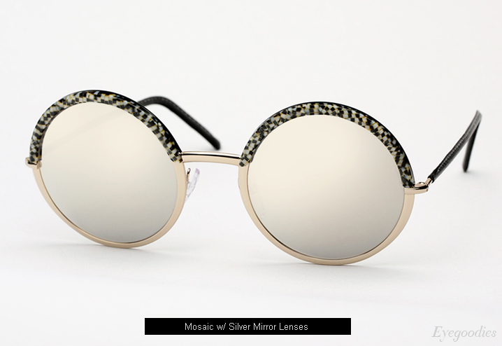 Cutler and Gross 1070 sunglasses - Mosaic