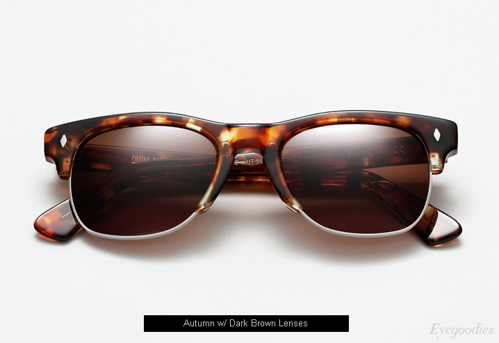 Cutler and Gross 1117 sunglasses - Autumn