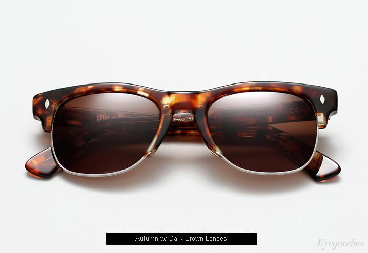 Cutler and Gross 1117 sunglasses - Autumn