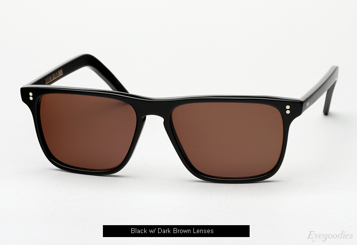 Cutler and Gross 1120 sunglasses - Black