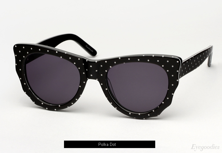 Ksubi Batcat sunglasses - Polka Dot