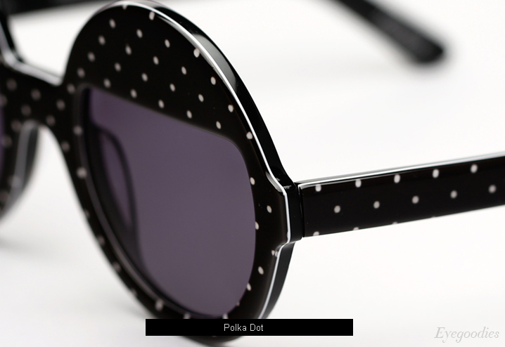 Ksubi Bellatrix sunglasses - Polka Dot
