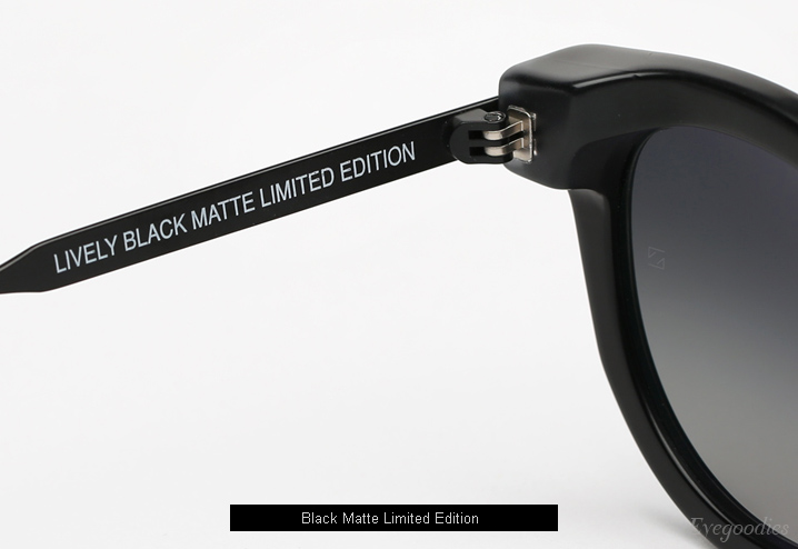 Thierry Lasry Lively - Matte Black Limited Edition