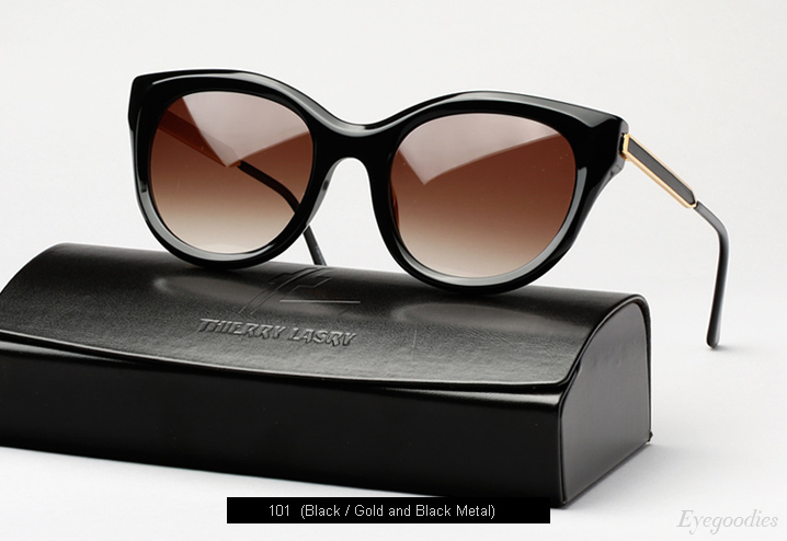 Thierry Lasry Dirtymindy sunglasses - Black