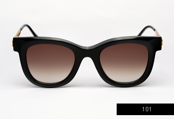 Thierry Lasry Nudity sunglasses - Black
