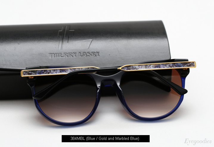 Thierry Lasry  X Kelly Wearstler sunglasses - Blue
