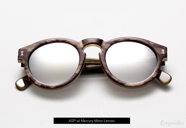Illesteva Leonard sunglasses - ASP w/ Mercury Mirror