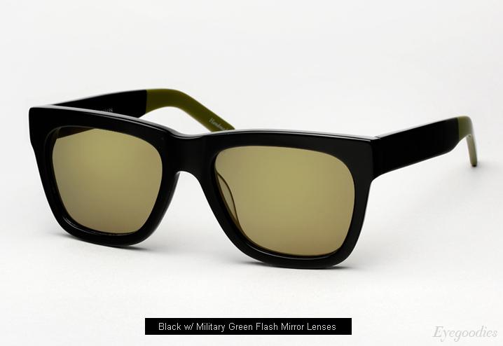 Ksubi Ara sunglasses - Black / Green