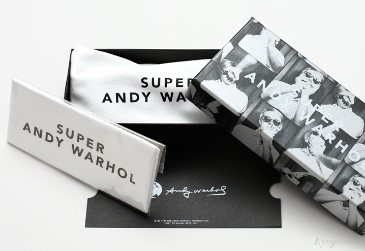 Super Andy Warhol sunglasses
