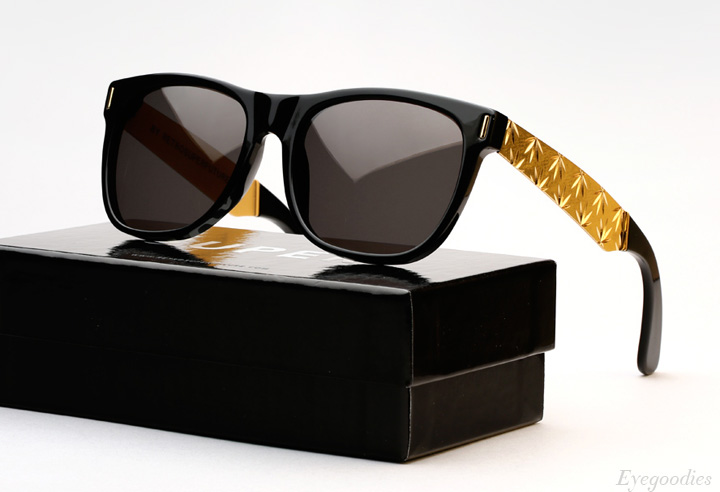 Super Basic Zoot Gold sunglasses
