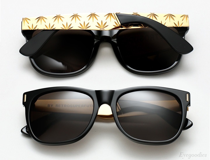 Super Basic Zoot Gold sunglasses