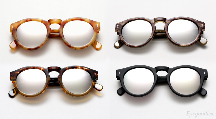 Illesteva Sunglasses Summer 2014 | Mercury Mirror Lenses