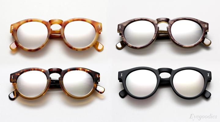 Illesteva Sunglasses Summer 2014 | Mercury Mirror Lenses