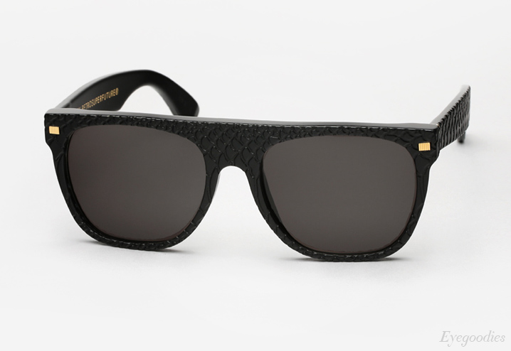 fd016c91a08 Super Flat Top Sunglasses Black Gold - Bitterroot Public Library