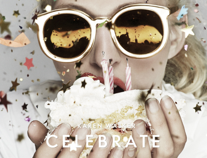 Karen Walker sunglasses Celebrate - 10th Anniversary - Limited Edition