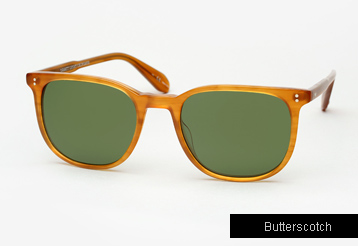 Garrett Leight Bentley sunglasses - Butterscotch