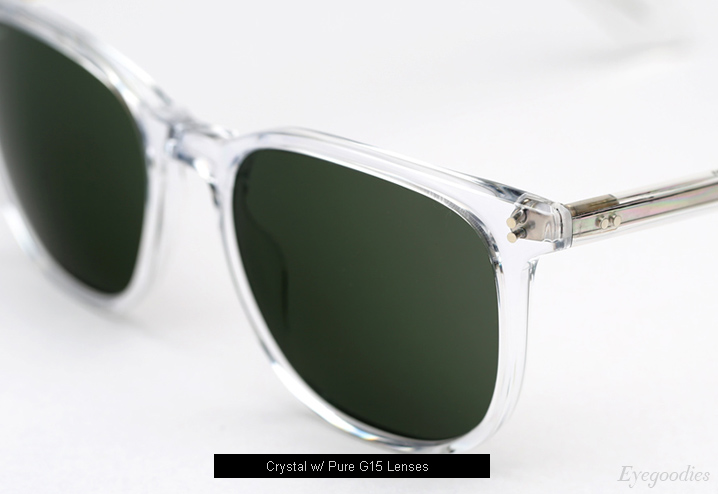 Garrett Leight Bentley sunglasses - Crystal