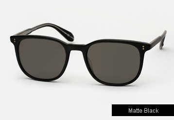 Garrett Leight Bentley sunglasses - Matte Black