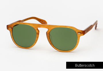 Garrett Leight Harding sunglasses - Butterscotch