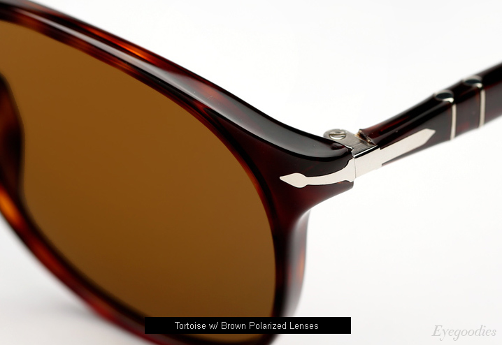 Persol 9649 Sunglasses - Tortoise w/ Brown Polarized