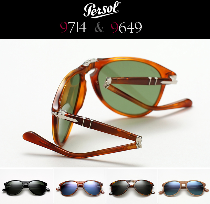 Persol 9714 and Persol 9649