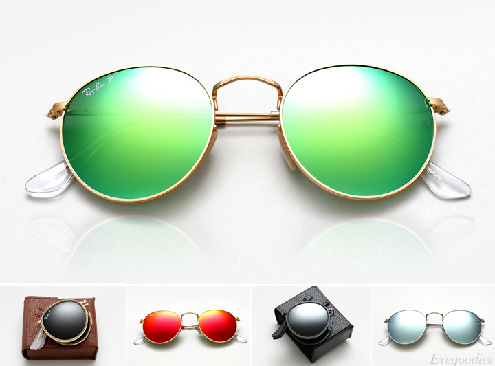 3ce4f2f411f Ray Ban Round Metal Sunglasses - RB 3447 and RB 3517