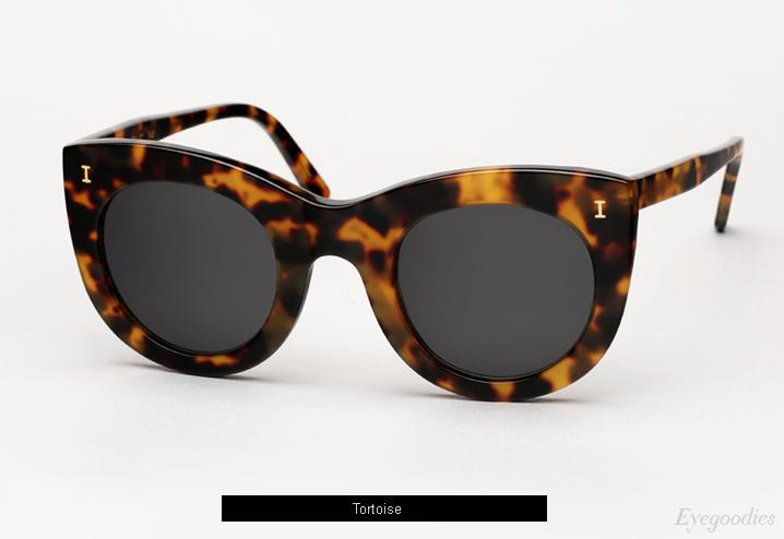 Illesteva Boca Sunglasses - Tortoise