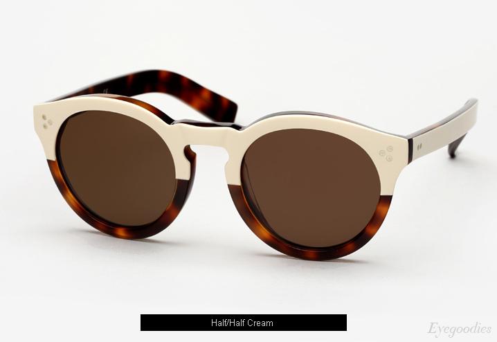 Illesteva Leonard 2 Sunglasses - Half/Half Cream