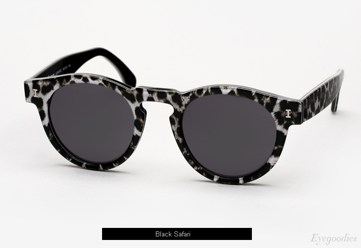 Illesteva Leonard sunglasses - Black Safari