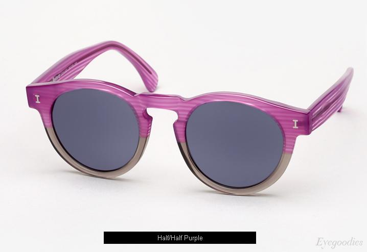 Illesteva Leonard sunglasses - Half/Half Purple