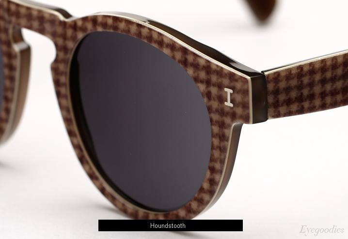 Illesteva Leonard sunglasses - Houndstooth