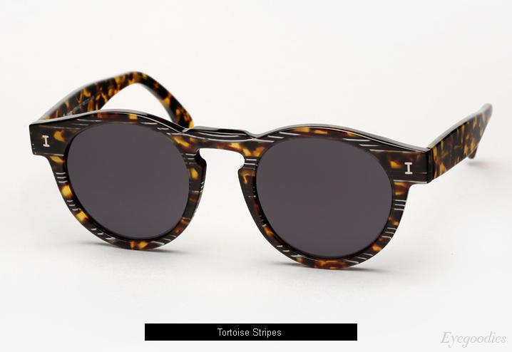 Illesteva Leonard sunglasses - Tortoise Stripes