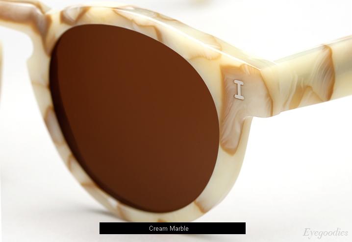 Illesteva Leonard sunglasses - Cream Marble