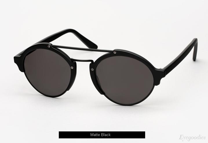 Illesteva Milan 2 sunglasses - Matte Black