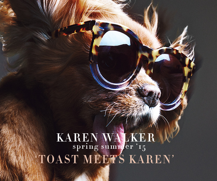 Karen Walker sunglasses SS 2015