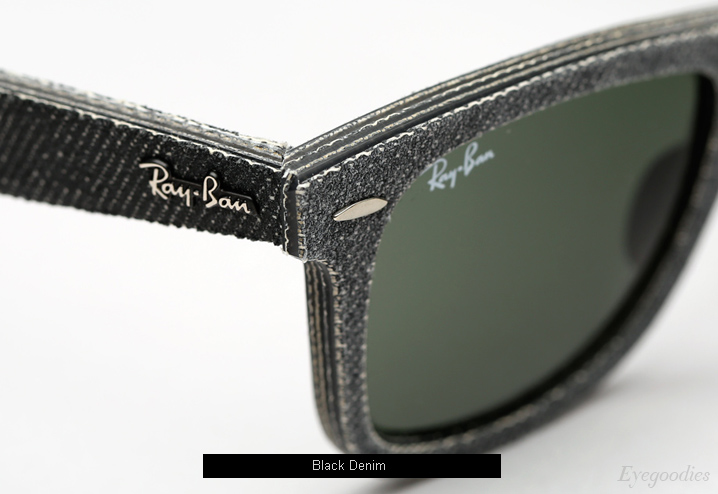 Ray Ban Denim Wayfarer RB 2140 sunglasses - Black