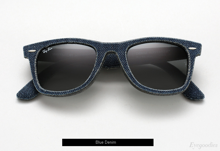 Ray Ban Denim Wayfarer RB 2140 sunglasses - Blue
