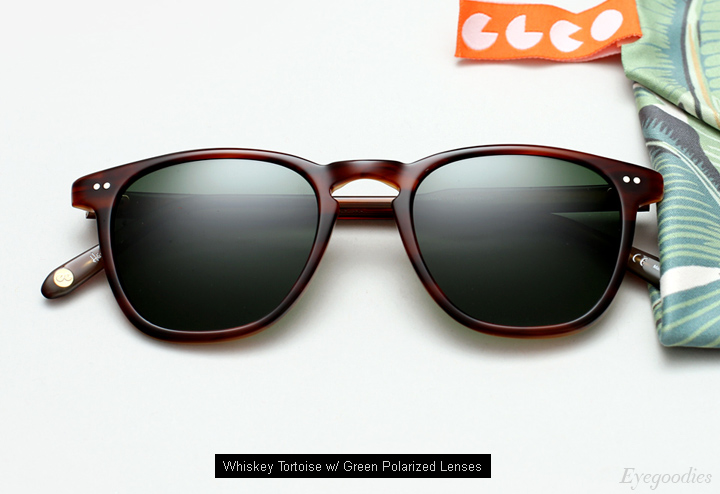 Garrett Leight Brooks sunglasses - Whiskey Tortoise