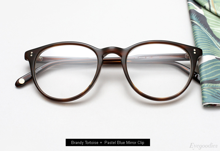 Garrett Leight Milwood eyeglasses + Clip