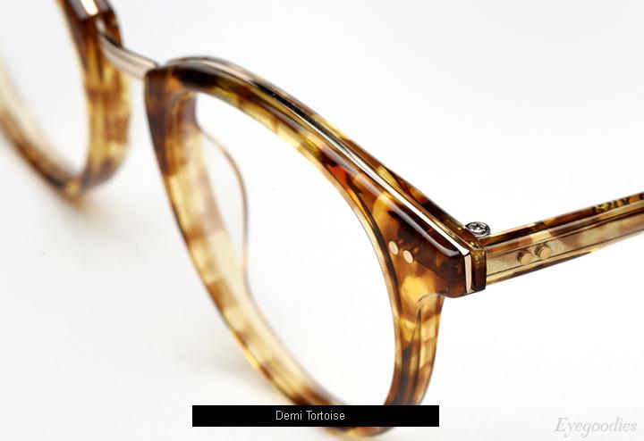 Garrett Leight X Mark Mcnairy Pinehurst eyeglasses - Demi Tortoise