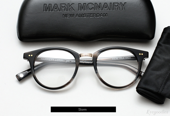 Garrett Leight X Mark Mcnairy Pinehurst eyeglasses - Storm