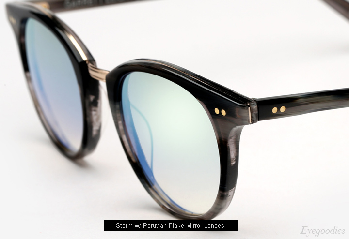 Garrett Leight x Mark Mcnairy Pinehurst sunglasses - Storm