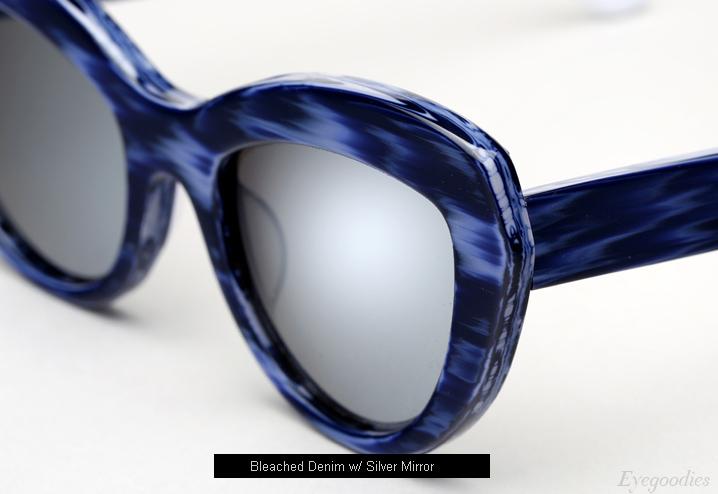 Ksubi Florina sunglasses - Bleached Denim