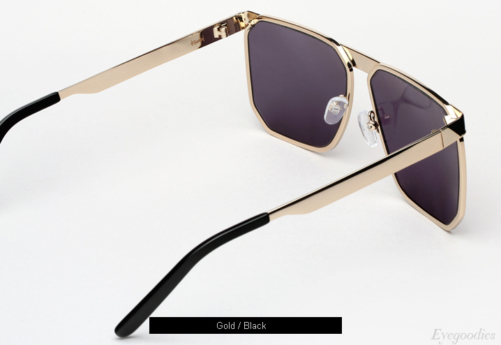 Ksubi Helicon Sunglasses - Gold