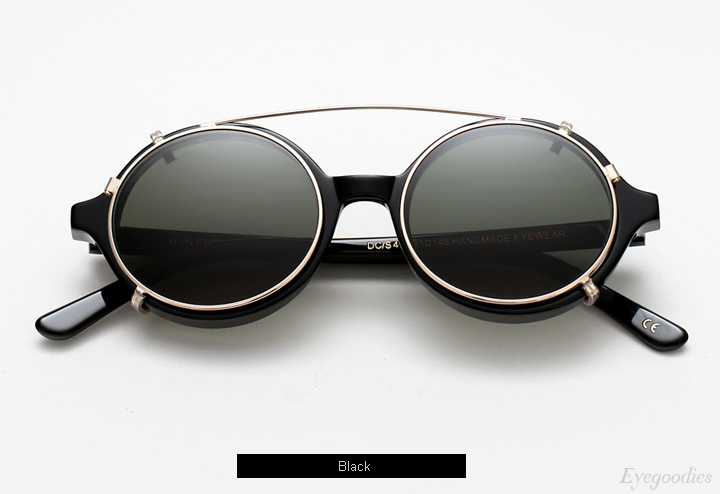 Han Doc - Black eyeglasses w/ Clip