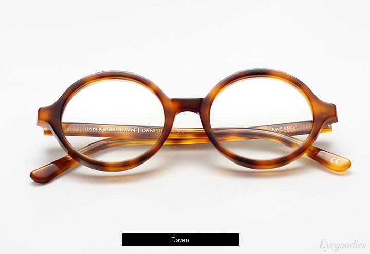 Han Doc - Raven eyeglasses w/ Clip